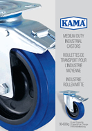 KAMA Medium Duty Industrial Castors