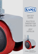 KAMA Light Duty Industrial Castors